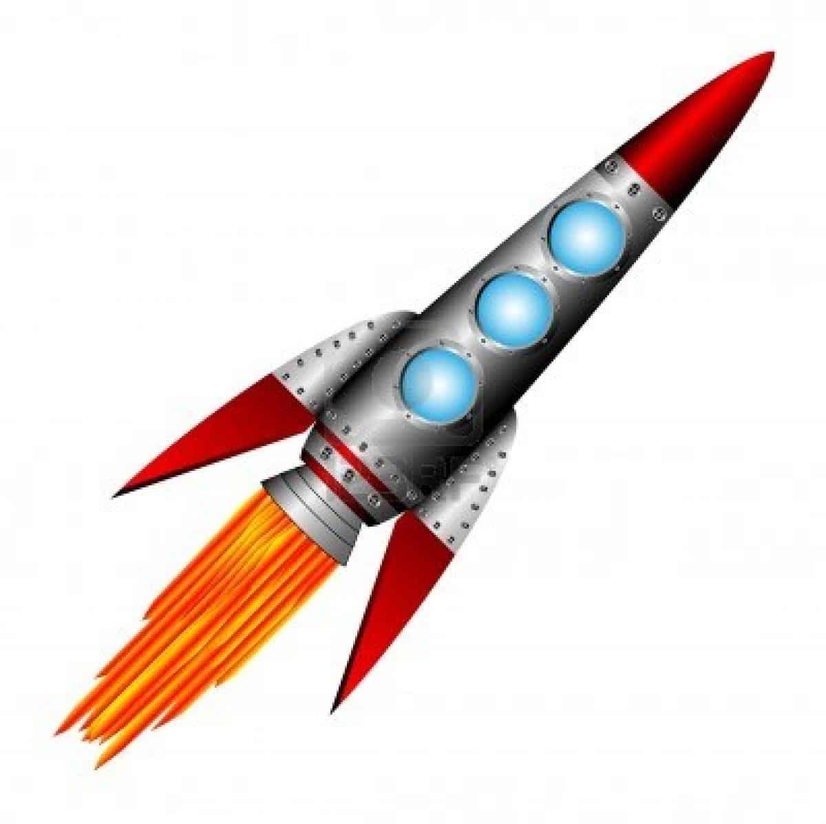 10946122 starting rocket on white background vector illustration Πως Να Πετύχεις Το 2014 Όποιον Στόχο Επιθυμείς!